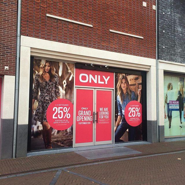 Nieuwe aanwinst voor het Winkelhart Spijkenisse, nog even geduld.. #only #spijkenisse #winkelhartspijkenisse #kopenkopenkopen