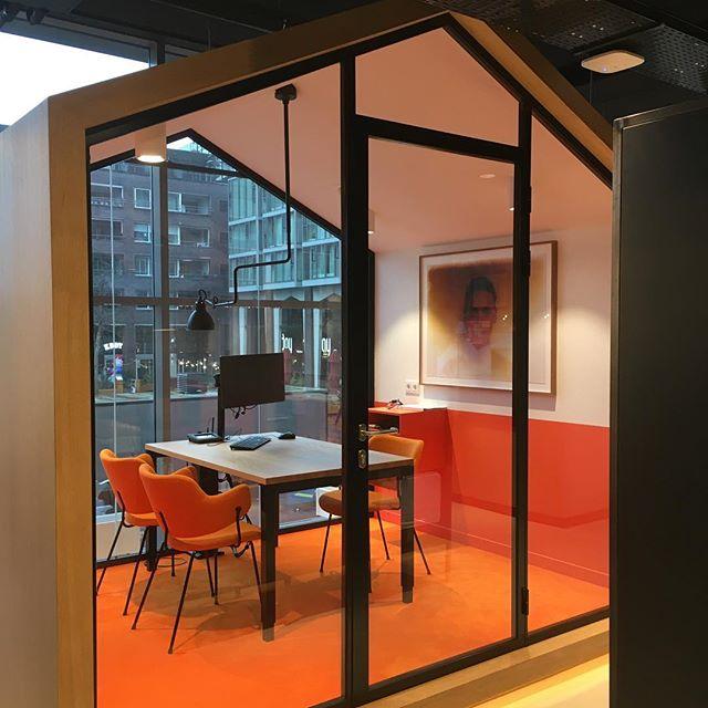 Nieuw ING kantoor in Amstelveen #ING #bankkantoor #zoku #bankoffice #service #retail #horeca #rondjeretail