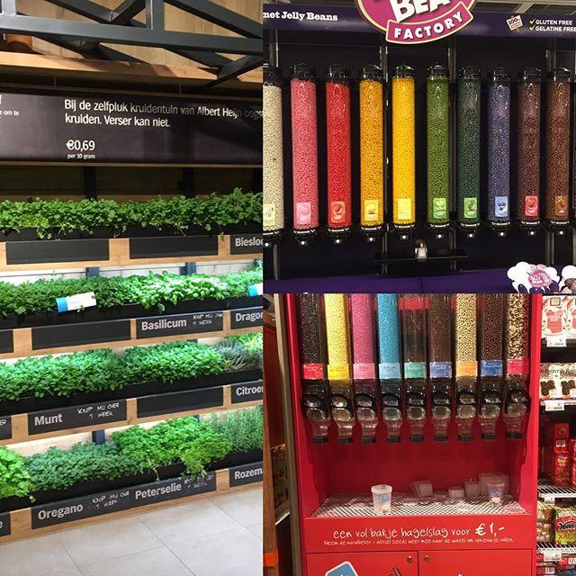 Zelf-service in de grootste supermarkt van NL #beleving #plukenruk #likeakidinacandyshop