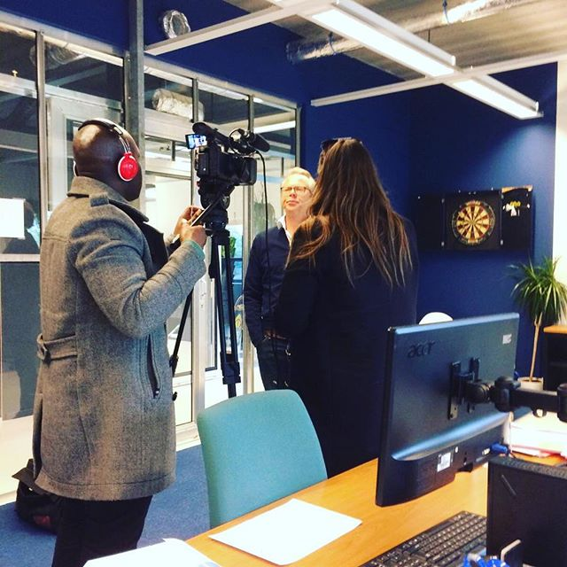Interview voor @at5_amsterdam over #paasdrukte in #amsterdam