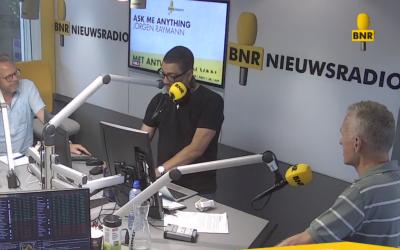 Huib Lubbers bij BNR Nieuwsradio over winkelopeningstijden