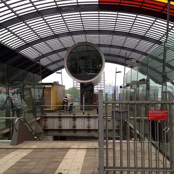 Het nieuwe NS busplatform in Amsterdam. Dat gaat wat worden!