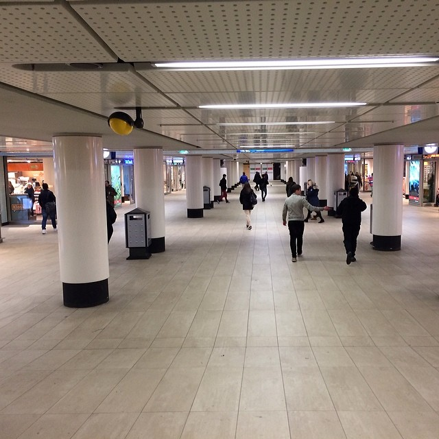 Nieuwe midden-tunnel Amsterdam Centraal Station