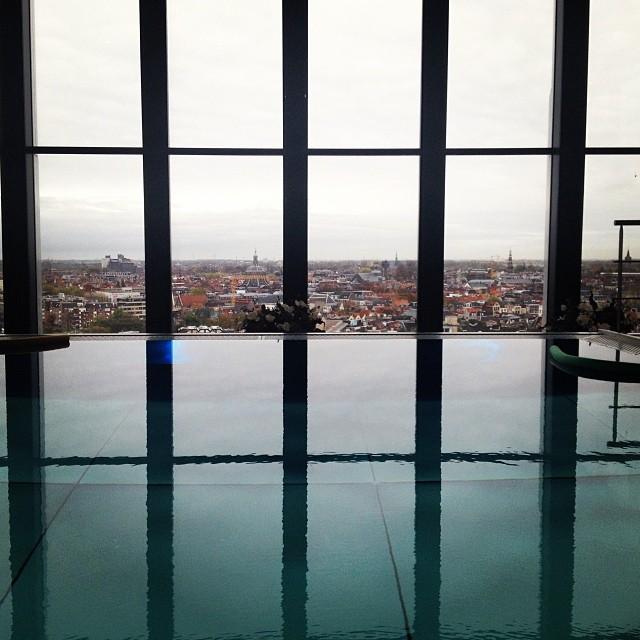 Ontspannen met uitzicht op Top Level in net geopende Level @ Leiden