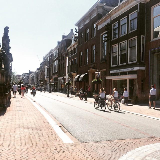 Prachtige Breestraat in Leiden