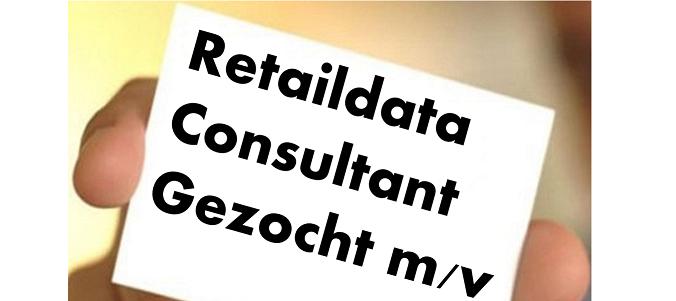 Vacature Retaildata Consultant