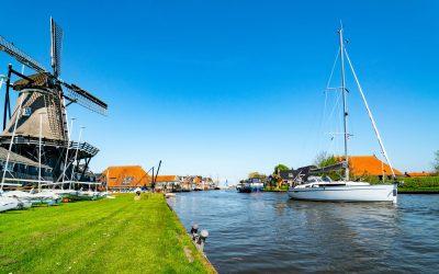 Boten tellen op de Nederlandse wateren