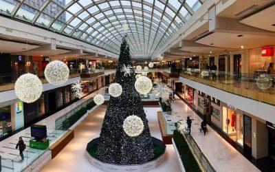 Voorspelling winkelstraatdrukte kerstdagen